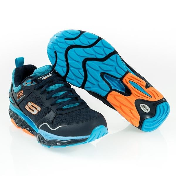 SKECHERS SRR PRO RESISTANCE 回彈力慢跑鞋-專業級訓練系列 男 藍