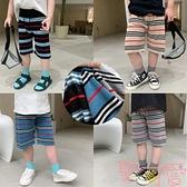 男童短褲外穿夏季韓版寬鬆針織休閒褲薄款【聚可愛】