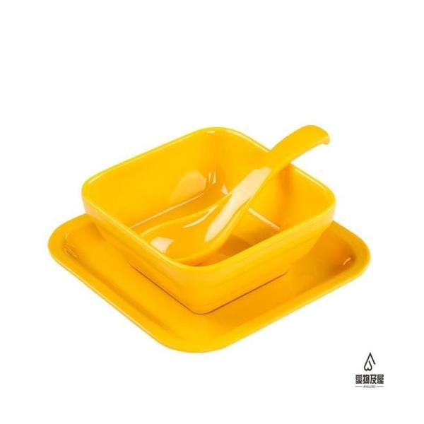 甜品碗創意塑料小碗商用仿瓷餐具【愛物及屋】