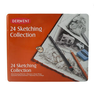 Derwent 達爾文Derwent 38 Piece Sketch Set Sketching Collection Set 38入素描鉛筆*34307