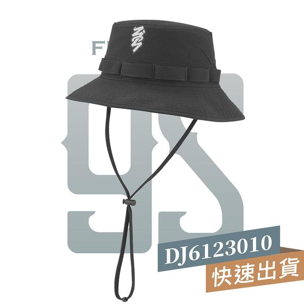 NIKE JORDAN BUCKET ZION BB CAP 黑 男女 抽繩 穿搭 遮陽帽 漁夫帽 DJ6123010