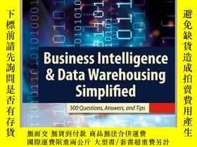 二手書博民逛書店Business罕見Intelligence & Data Warehousing SimplifiedY23