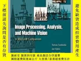 二手書博民逛書店【罕見】Image Processing, Analysis & And Machine Vision - A M