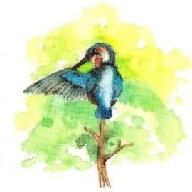 美飾鳥轉印膠片(6入)