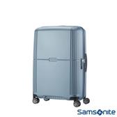 Samsonite 新秀麗 Orfeo 簡約方正線條PC硬殼 TSA嵌入式海關鎖 登機箱/行李箱-20吋(銀藍)