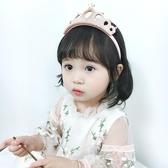 韓國兒童皇冠頭飾白雪公主小女孩女童王冠發箍女寶寶周歲生日發飾