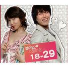 韓劇 18.29 電視原聲帶 CD附DVD OST (音樂影片購)