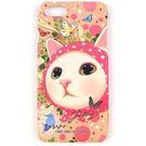 JETOY, 甜蜜貓 硬殼 iPhone7 手機殼_Pink hood