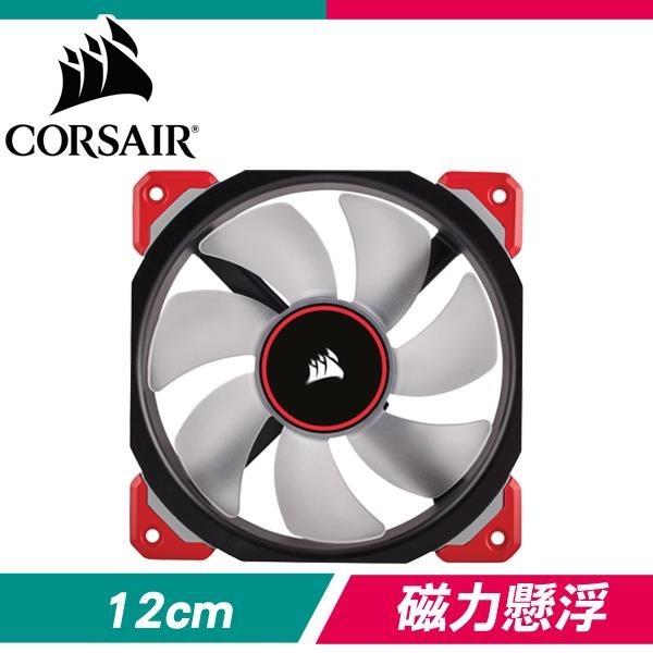 【南紡購物中心】Corsair 海盜船 ML120 PRO LED 紅光 12CM PWM風扇
