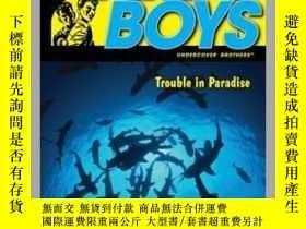 二手書博民逛書店Trouble罕見in ParadiseY362136 Franklin W. Dixon... Aladdi