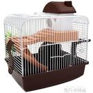 倉鼠籠子用品配件基礎籠雙層城堡籠金絲熊窩大房子套餐籠 依凡卡時尚