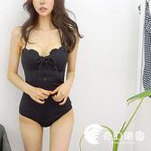 連體泳衣-唯迪麗娜溫泉季新款特種面料時尚聚攏性感連體泳衣-奇幻樂園