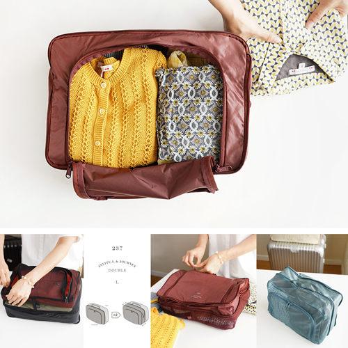 【韓國創意品牌 invite.L】L號 衣服收納袋 內衣袋 旅行好幫手 網袋設計好貼心 韓國正品空運