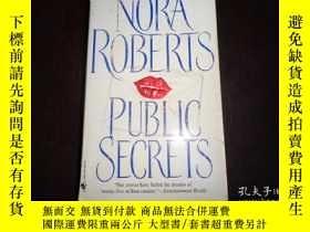 二手書博民逛書店NORA罕見ROBERTS,PUBLIC SECRETSY198