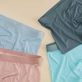 夏天男士內褲冰絲無痕超舒服 清涼薄款平角 店慶降價