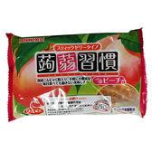 日本蒟蒻習慣果凍-白桃384g【愛買】
