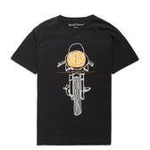 Deus 經典摩托車 短袖上衣 FRONTAL MATCHLESS - 黑