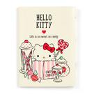 【震撼精品百貨】Hello Kitty_凱蒂貓~Sanrio HELLO KITTY卡片收納夾-甜點#70071