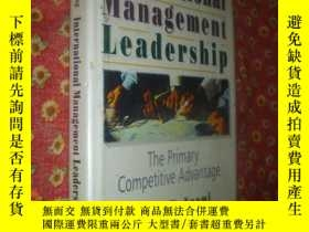 二手書博民逛書店International罕見Management Leader