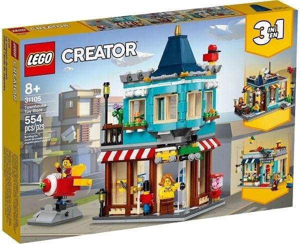 【LEGO樂高】CREATOR 排屋玩具店 #31105