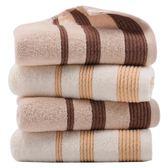 黑五好物節純棉毛巾4條裝洗臉面巾加厚成人大洗臉巾柔軟吸水 易貨居