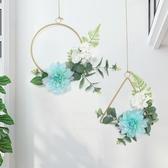 ins風創意奶茶店臥室內餐廳北歐墻面墻上裝飾品房間墻壁掛件擺件 DF玫瑰