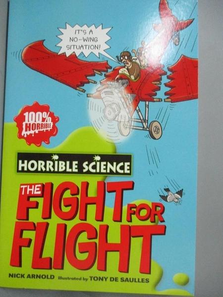 【書寶二手書T8/原文小說_NPB】Fearsome Fight for Flight(Horrible Science