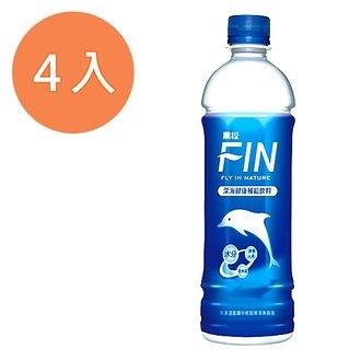 黑松FIN健康補給飲料580ml(4入)/組【康鄰超市】