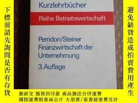 二手書博民逛書店kurzlehrbücher罕見reihe betriebswi