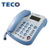 A07109   【TECO東元】來電顯示有線電話-鮮藍   XC0513CB  XC0513-CB