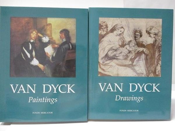 【書寶二手書T5/藝術_FHA】VAN DYCK-Paintings_Drawings_2冊合售_附殼