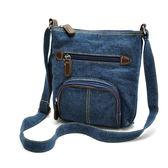 韓版復古 帆布包 斜挎包 品牌女包 側背包 手提牛仔布包