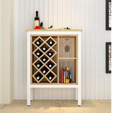 紅酒櫃酒櫃落地小酒架紅酒葡萄酒格客廳家用吧臺玄關隔斷儲物櫃LX220V交換禮物