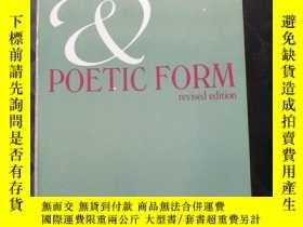 二手書博民逛書店Poetic罕見Meter and Poetic Form[Re