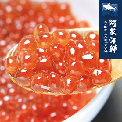 【日本製】北勝頂級秋鮭魚卵500g±5%/盒 鮭魚卵 大粒 魚卵 頂級 新鮮 壽司 海鮮丼 鮭魚 料理
