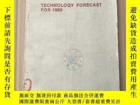 二手書博民逛書店technology罕見forecast for 1980(P3642)Y173412
