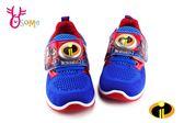 超人特攻隊 運動鞋 男童 迪士尼 MIT 電燈鞋 F8193#紅藍◆OSOME奧森童鞋