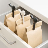 ♚MY COLOR♚小鳥食品密封口夾 兩入裝 密封器 零食 廚房 保鮮 雜物 食物 防潮 封袋夾【R76-1】