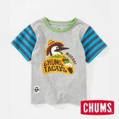 CHUMS 日本 童 有機棉 Booby 趣味MUCHO! 短袖T恤 Crazy CH211057C004