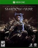 Xbox one 中土世界 戰爭之影 實體 中文版