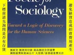二手書博民逛書店A罕見Poetic For Sociology-社會學詩學Y436638 Richard Harvey Bro