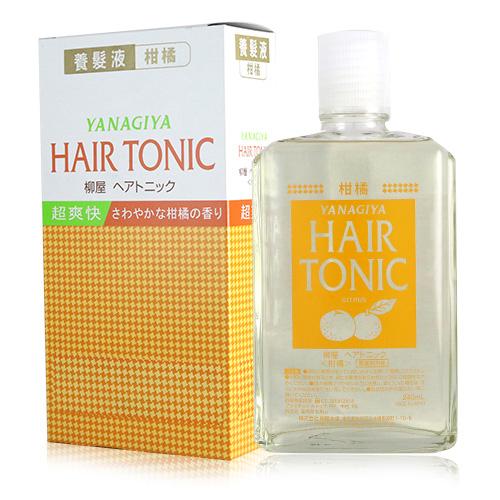日本 Yanagiya 養髮液 增強柑橘版 240ml【新高橋藥妝】
