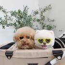 韓版墨鏡愛心寵物墨鏡狗狗貓咪搭配飾品拍照太陽鏡【小獅子】