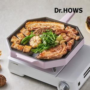韓國Dr.Hows 煎烤盤28cm_粉嫩紫