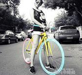 佳鳳死飛自行車成人活飛公路賽倒剎車實心胎2426寸男女學生單車 依凡卡時尚