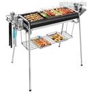 燒烤架 全套加厚燒燒烤架不銹鋼燒烤架家用野外木炭戶外工具碳烤肉爐子架子 YDL