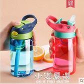 寶寶水壺兒童水杯小學生帶吸管杯防摔家用幼兒園夏天便攜成人杯子『小淇嚴選』