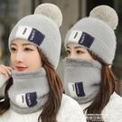 熱賣針織帽 帽子女秋冬韓版針織帽冬天騎車加厚防寒月子帽時尚百搭毛線帽 萊俐亞