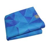 Taimat 天然橡膠瑜珈墊 183cm 絲路系列 (彩繪) - 深海藍