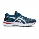 Asics Gel-nimbus 22 (4e) [1011A682-404] 男鞋 慢跑 運動 寬楦 輕量 緩衝 藍